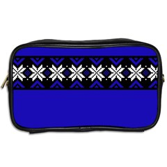 Misha Blue Sweater By Lone   Toiletries Bag (two Sides)   Ioh67q5iqz5b   Www Artscow Com Back