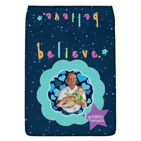 Believe Large Flap Cover, #2 By Joy Johns   Removable Flap Cover (l)   T9hpva7s4r1q   Www Artscow Com Front