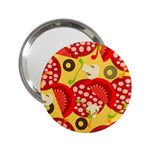 pizza - 2.25  Handbag Mirror