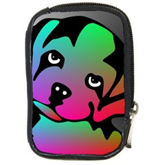 Dog Compact Camera Leather Case