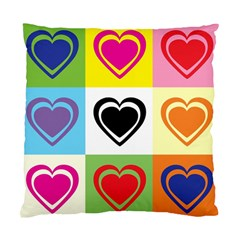 Hearts Cushion Case (single Sided)  by Siebenhuehner