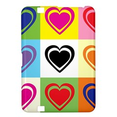 Hearts Kindle Fire Hd 8 9  Hardshell Case by Siebenhuehner