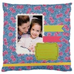 mothers day - Large Cushion Case (One Side)