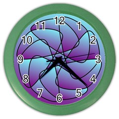 Pattern Wall Clock (color) by Siebenhuehner
