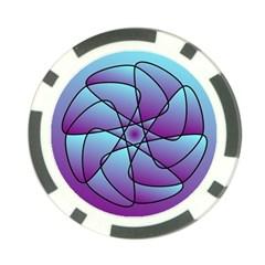 Pattern Poker Chip (10 Pack) by Siebenhuehner