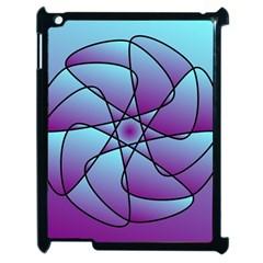 Pattern Apple Ipad 2 Case (black) by Siebenhuehner