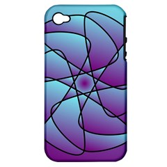 Pattern Apple Iphone 4/4s Hardshell Case (pc+silicone) by Siebenhuehner