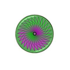 Pattern Golf Ball Marker 4 Pack (for Hat Clip) by Siebenhuehner