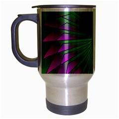 Pattern Travel Mug (silver Gray) by Siebenhuehner