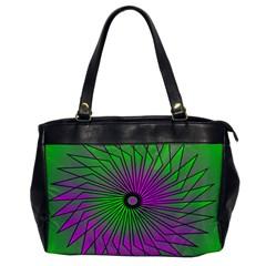 Pattern Oversize Office Handbag (one Side) by Siebenhuehner