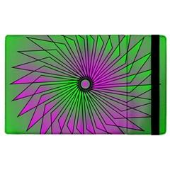 Pattern Apple Ipad 3/4 Flip Case by Siebenhuehner