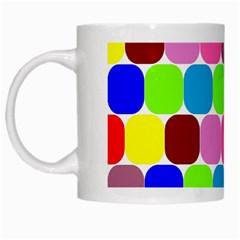 Color White Coffee Mug by Siebenhuehner