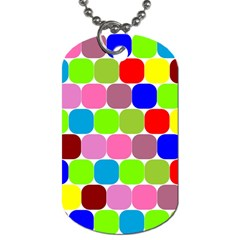 Color Dog Tag (one Sided) by Siebenhuehner