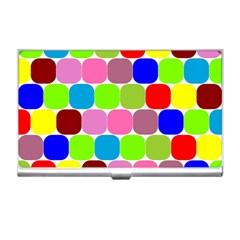Color Business Card Holder by Siebenhuehner