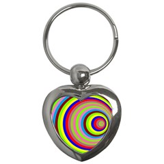 Color Key Chain (heart) by Siebenhuehner