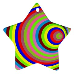Color Star Ornament (two Sides) by Siebenhuehner