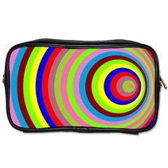 Color Travel Toiletry Bag (one Side) by Siebenhuehner