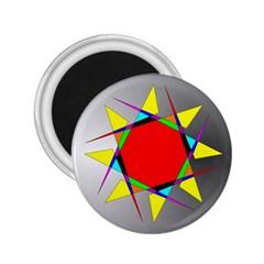 Star 2 25  Button Magnet by Siebenhuehner