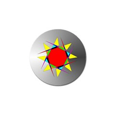 Star Golf Ball Marker by Siebenhuehner