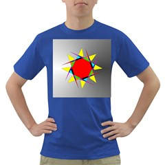 Star Men s T Shirt (colored)