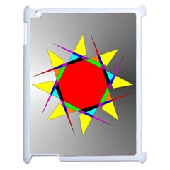 Star Apple Ipad 2 Case (white) by Siebenhuehner