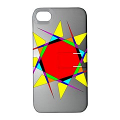 Star Apple Iphone 4/4s Hardshell Case With Stand by Siebenhuehner