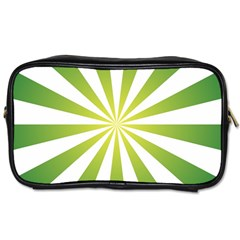 Pattern Travel Toiletry Bag (two Sides) by Siebenhuehner