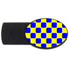 Pattern 4gb Usb Flash Drive (oval) by Siebenhuehner
