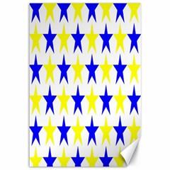 Star Canvas 12  X 18  (unframed) by Siebenhuehner