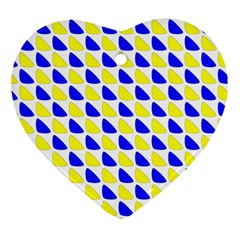Pattern Heart Ornament (two Sides) by Siebenhuehner
