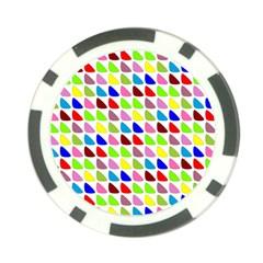 Pattern Poker Chip by Siebenhuehner