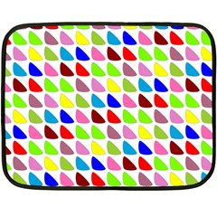 Pattern Mini Fleece Blanket (two Sided) by Siebenhuehner