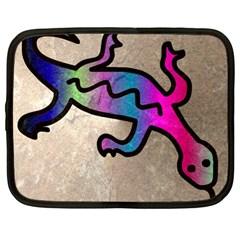 Lizard Netbook Sleeve (xl) by Siebenhuehner