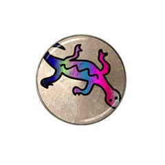 Lizard Golf Ball Marker 10 Pack (for Hat Clip) by Siebenhuehner