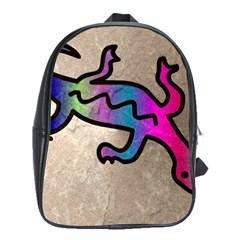 Lizard School Bag (large)
