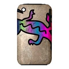 Lizard Apple iPhone 3G/3GS Hardshell Case (PC+Silicone) by Siebenhuehner