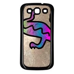 Lizard Samsung Galaxy S3 Back Case (black) by Siebenhuehner