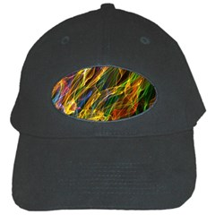 Abstract Smoke Black Baseball Cap by StuffOrSomething