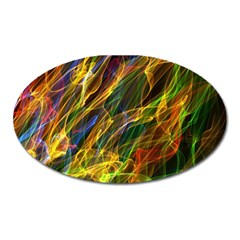Abstract Smoke Magnet (oval) by StuffOrSomething