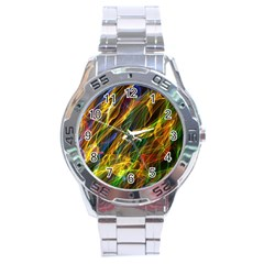 Abstract Smoke Stainless Steel Watch by StuffOrSomething