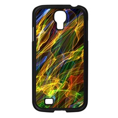 Abstract Smoke Samsung Galaxy S4 I9500/ I9505 Case (black) by StuffOrSomething