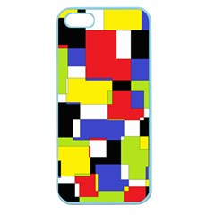 Mod Geometric Apple Seamless Iphone 5 Case (color) by StuffOrSomething