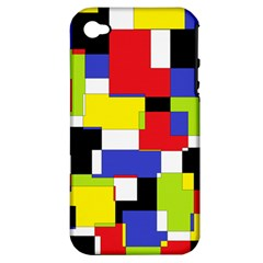 Mod Geometric Apple Iphone 4/4s Hardshell Case (pc+silicone) by StuffOrSomething