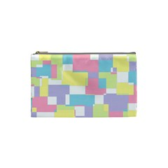 Mod Pastel Geometric Cosmetic Bag (small) by StuffOrSomething