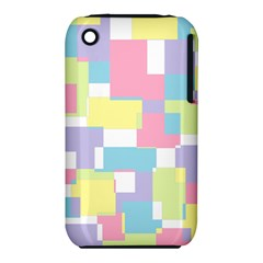 Mod Pastel Geometric Apple Iphone 3g/3gs Hardshell Case (pc+silicone) by StuffOrSomething