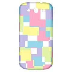 Mod Pastel Geometric Samsung Galaxy S3 S Iii Classic Hardshell Back Case by StuffOrSomething