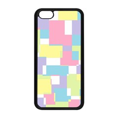 Mod Pastel Geometric Apple Iphone 5c Seamless Case (black) by StuffOrSomething