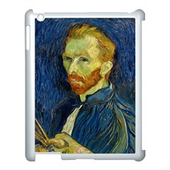 Vincent Van Gogh Self Portrait With Palette Apple Ipad 3/4 Case (white)