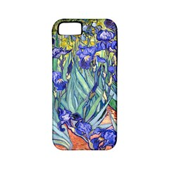 Vincent Van Gogh Irises Apple Iphone 5 Classic Hardshell Case (pc+silicone) by MasterpiecesOfArt