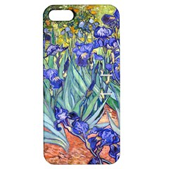 Vincent Van Gogh Irises Apple Iphone 5 Hardshell Case With Stand by MasterpiecesOfArt